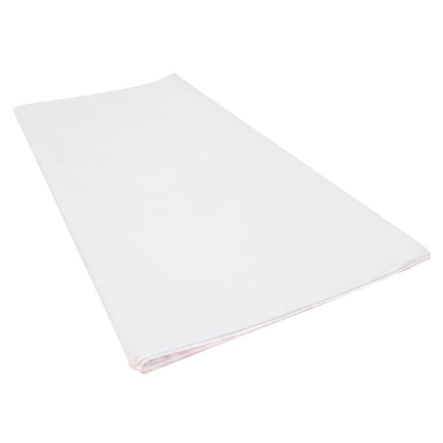 Papel de Seda Branco 50x70 cm | 1 Pct c/ 100 folhas