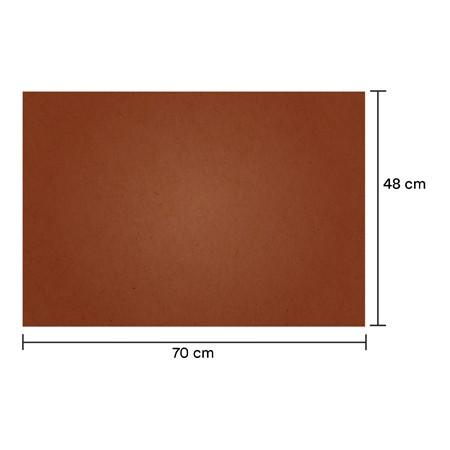 Papel de Seda Cobre 48x70 cm | 1 Pct c/ 100 folhas