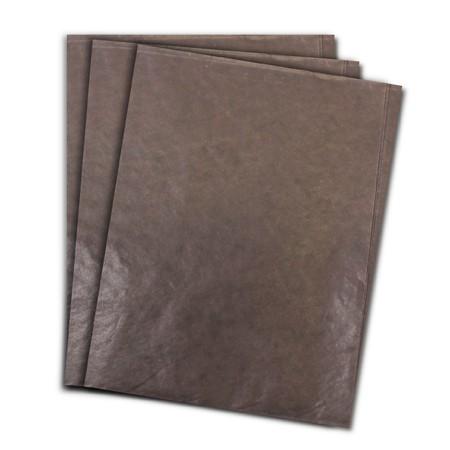 Papel de Seda Marrom 48x60 cm | 1 Pct c/ 100 folhas