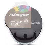 BASE PARA MOUSE COM APOIO EM GEL MAXPRINT - PRETO COD. 60448-4