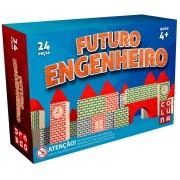 BLOCO MONTAR FUTURO ENGENHEIRO 24 PEÇAS - COLUNA