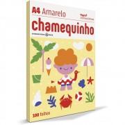 CHAMEQUINHO A4 100 FLS - AMARELO