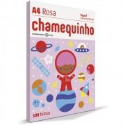 CHAMEQUINHO A4 100 FLS - ROSA