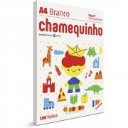 CHAMEQUINHO A4 100 FOLHAS - BRANCO
