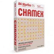 CHAMEX COLORS A4 75G 500 FOLHAS MARFIM