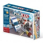 JOGO MONTAR CLICK IT POLICIA CL-PL09 127 PEÇAS - PLAY CIS