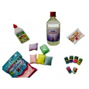 KIT SLIME ALGODAO DOCE - KIT 54