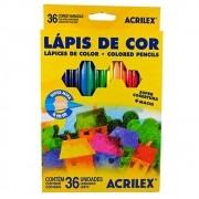 LÁPIS DE COR ACRILEX 36 CORES