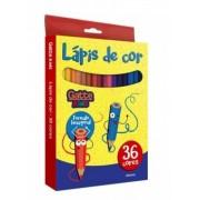 LÁPIS DE COR GATTE 36 CORES