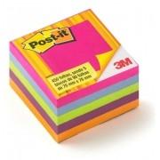 POST-IT CUBO 76X76 TROPICAL 654 - 3M