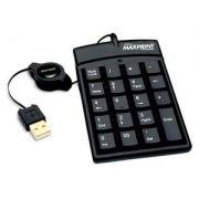 TECLADO NUMERICO USB MAXPRINT - PRETO COD. 60867-6
