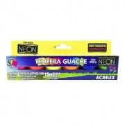 TINTA GUACHE NEON ACRILEX 15 ML 6 CORES