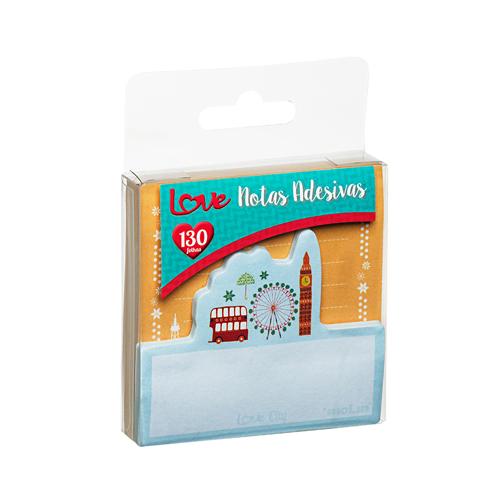 BLOCO ADESIVO LOVE CITY 130 FLS - MOLIN