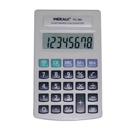 CALCULADORA PROCALC - PC082 8 DÍGITOS