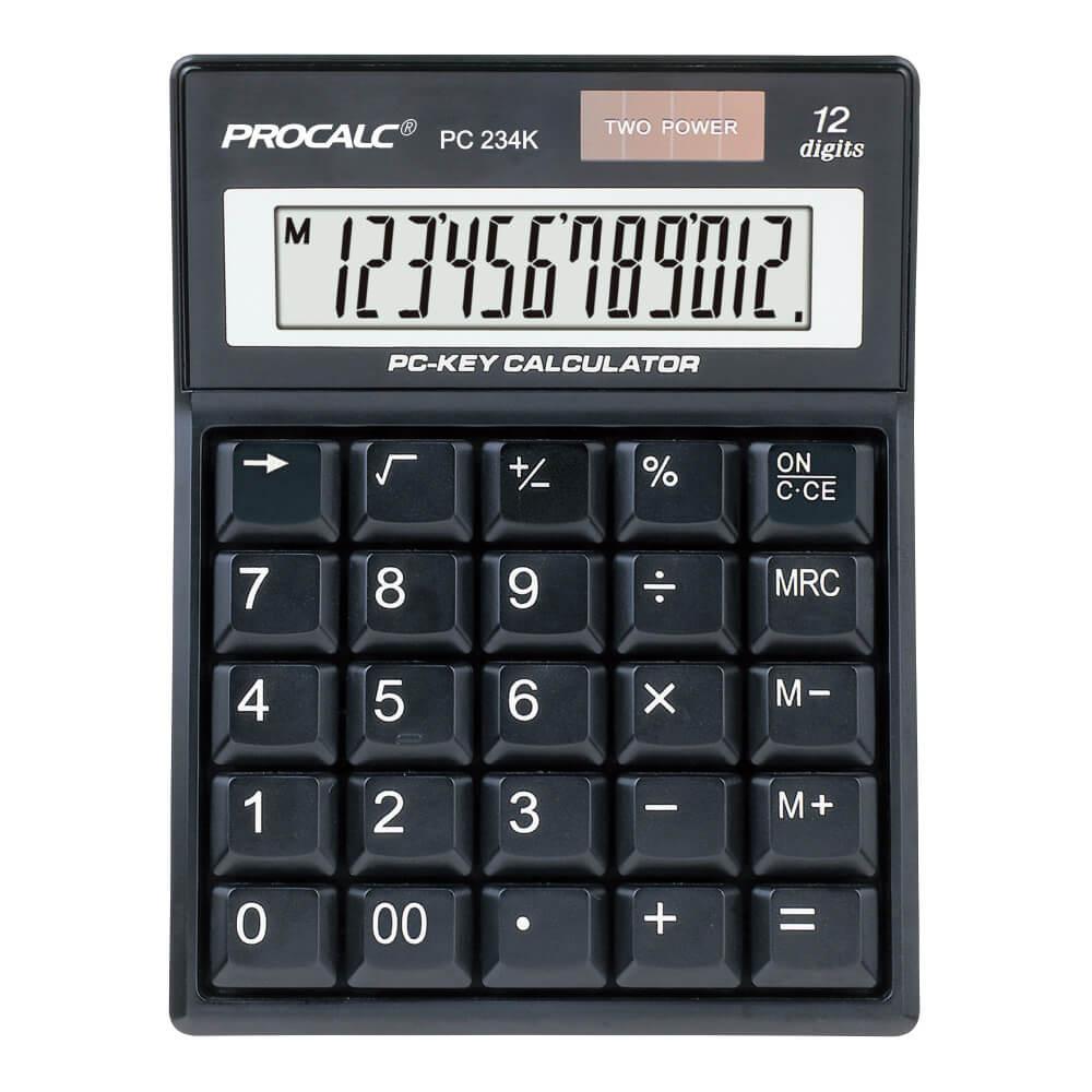 CALCULADORA PROCALC - PC234K 12 DÍGITOS