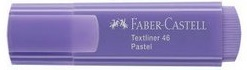 CANETA FABER-CASTELL MARCA TEXTO TEXTLINER 46 - LILAS PASTEL