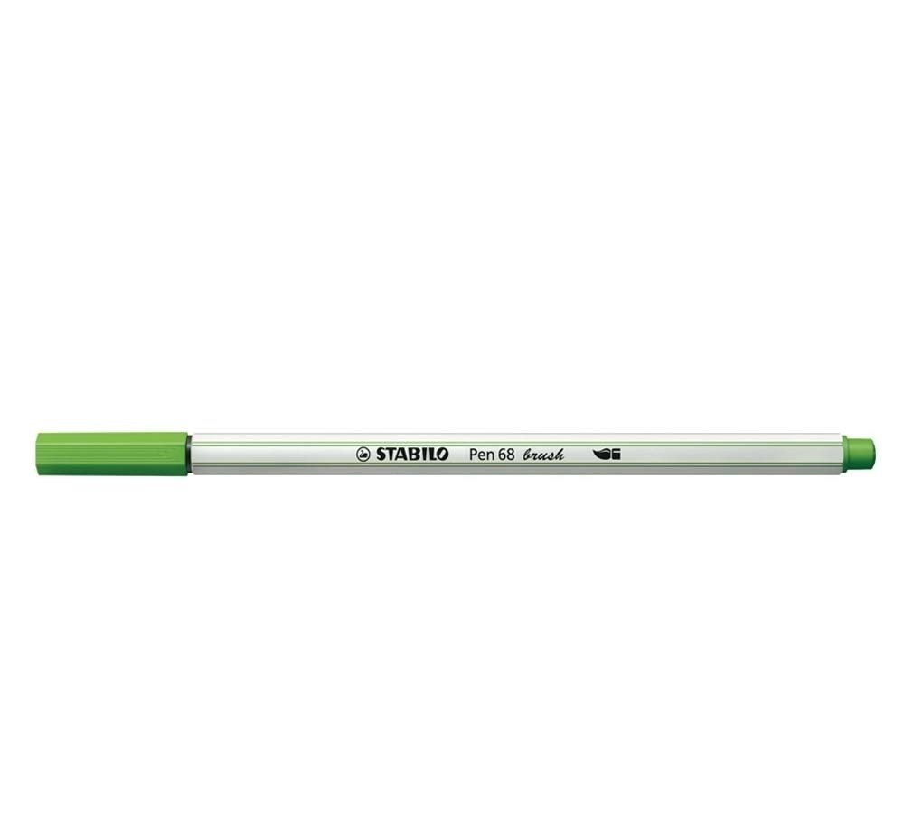 CANETA STABILO 68 BRUSH AQUARELAVEL 568/33 VERDE MACA