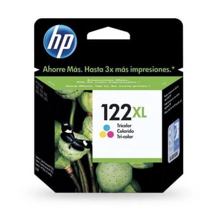 CARTUCHO HP 122XL COLORIDO 7,5 ML (CH564HB)