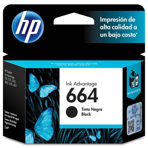 CARTUCHO HP 664 PRETO 2 ML (F6V29AB)