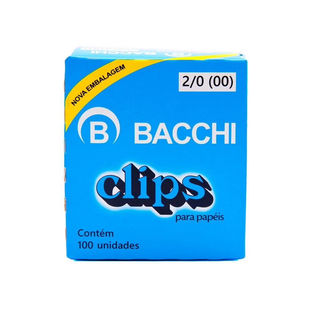 CLIPES 2/0 (00) BACCHI - 100 UNIDADES