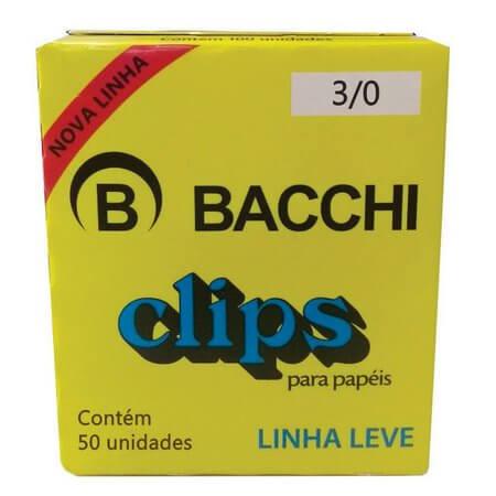 CLIPES 3/0 BACCHI - 50 UND LINHA LEVE