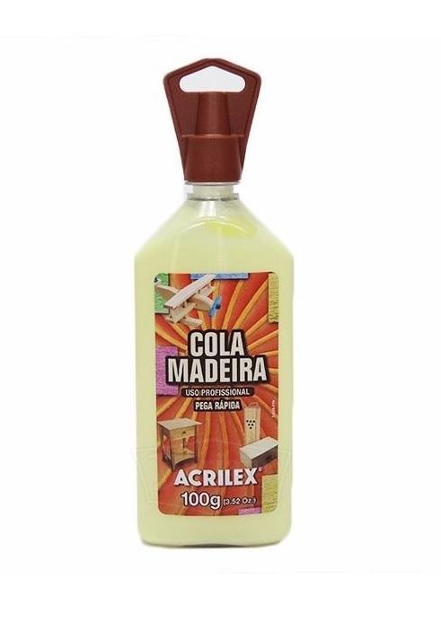COLA MADEIRA ACRILEX 100 G