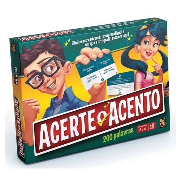 JOGO ACERTE O ACENTO GROW