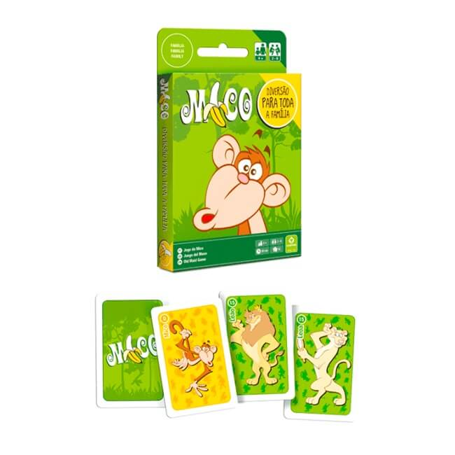 JOGO DE CARTAS MICO 55 CARTAS - COPAG