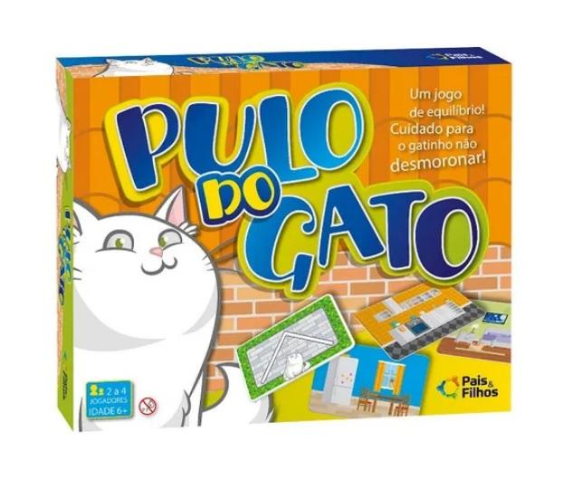 JOGO TABULEIRO PULO DO GATO
