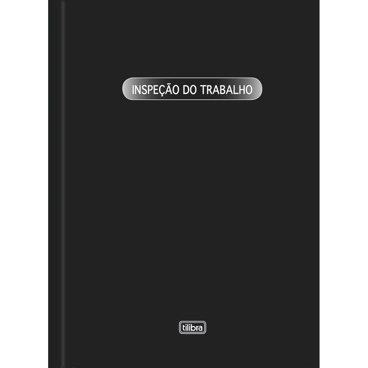 LIVRO INSPEÇÃO DO TRABALHO 50 FOLHAS - TILIBRA