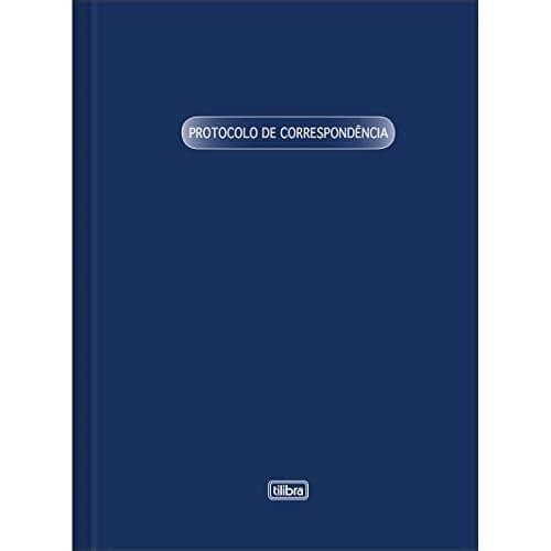 LIVRO PROTOCOLO CORRESPONDÊNCIA COM 52 FOLHAS - TILIBRA