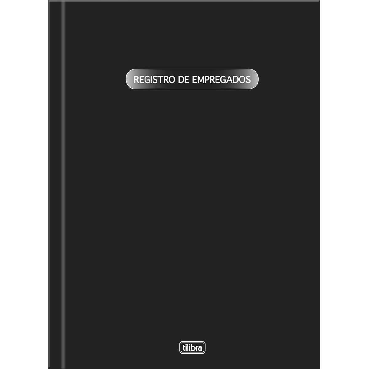 LIVRO REGISTRO DE EMPREGADOS C/ 50 FOLHAS - TILIBRA