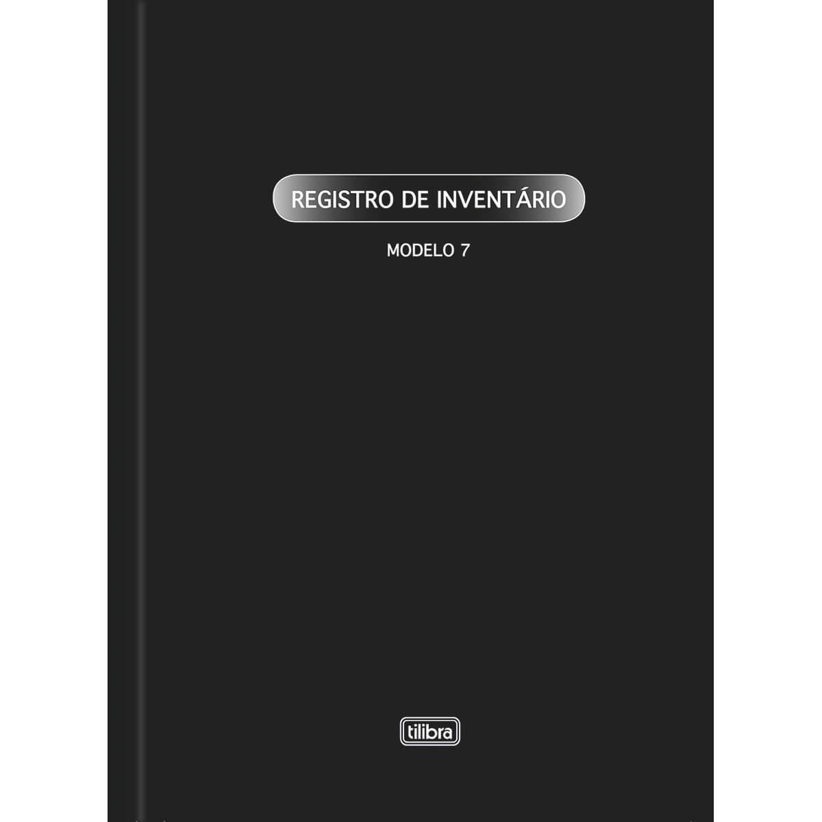 LIVRO REGISTRO DE INVENTARIO MODELO 7 - TILIBRA