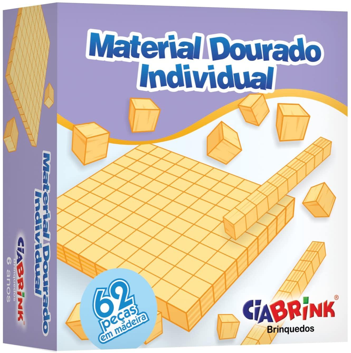 MATERIAL DOURADO 62 PEÇAS CIA BRINK