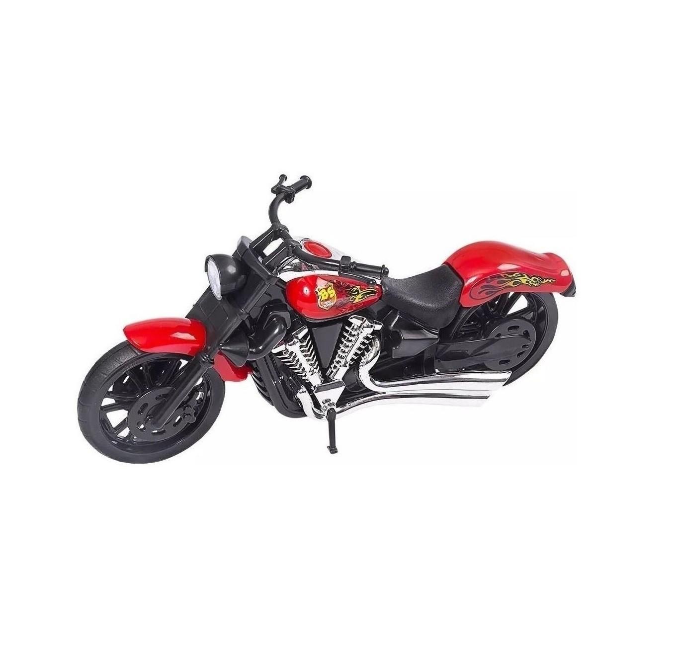 MOTO CHOPPER ACTION COLORS - BS TOYS