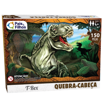 QUEBRA-CABEÇA T-REX 150 PEÇAS