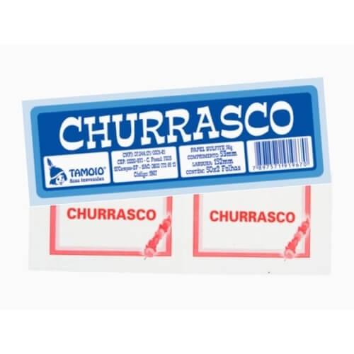 TALÃO DE CHURRASCO TAMOIO
