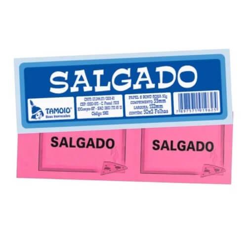 TALÃO DE SALGADO TAMOIO
