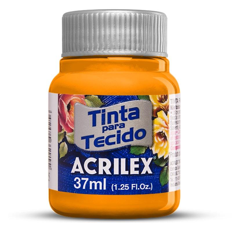 TINTA DE TECIDO ACRILEX 37 ML AMARELO CADMIO