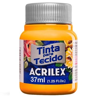 TINTA DE TECIDO ACRILEX 37 ML AMARELO GEMA