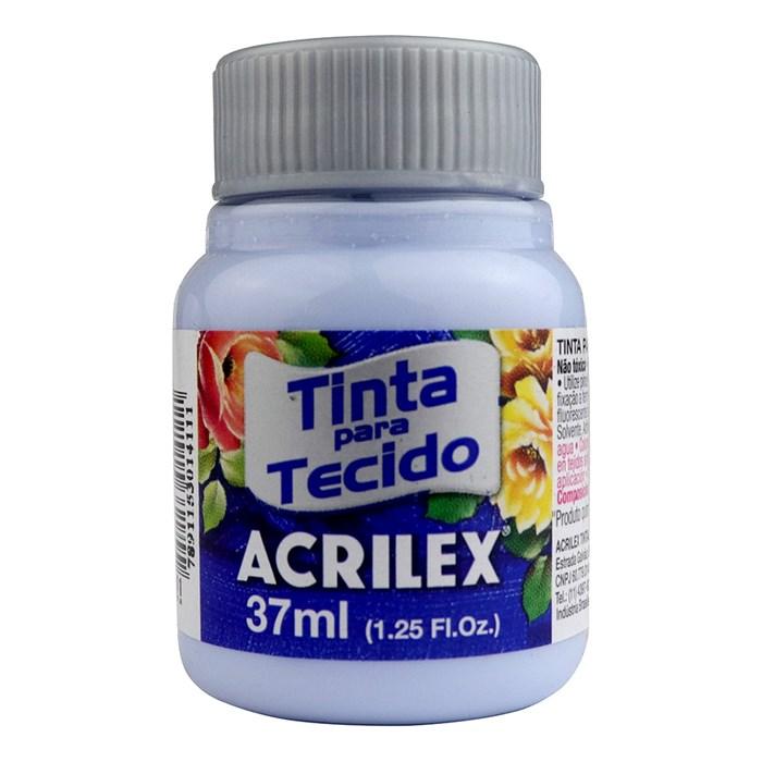 TINTA DE TECIDO ACRILEX 37 ML AZUL BEBE
