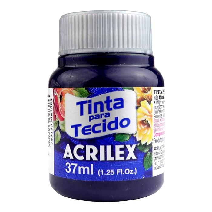 TINTA DE TECIDO ACRILEX 37 ML AZUL MARINHO