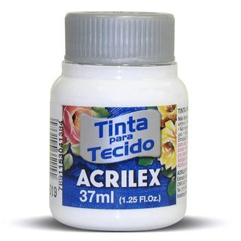 TINTA DE TECIDO ACRILEX 37 ML BRANCO
