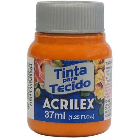 TINTA DE TECIDO ACRILEX 37 ML CENOURA
