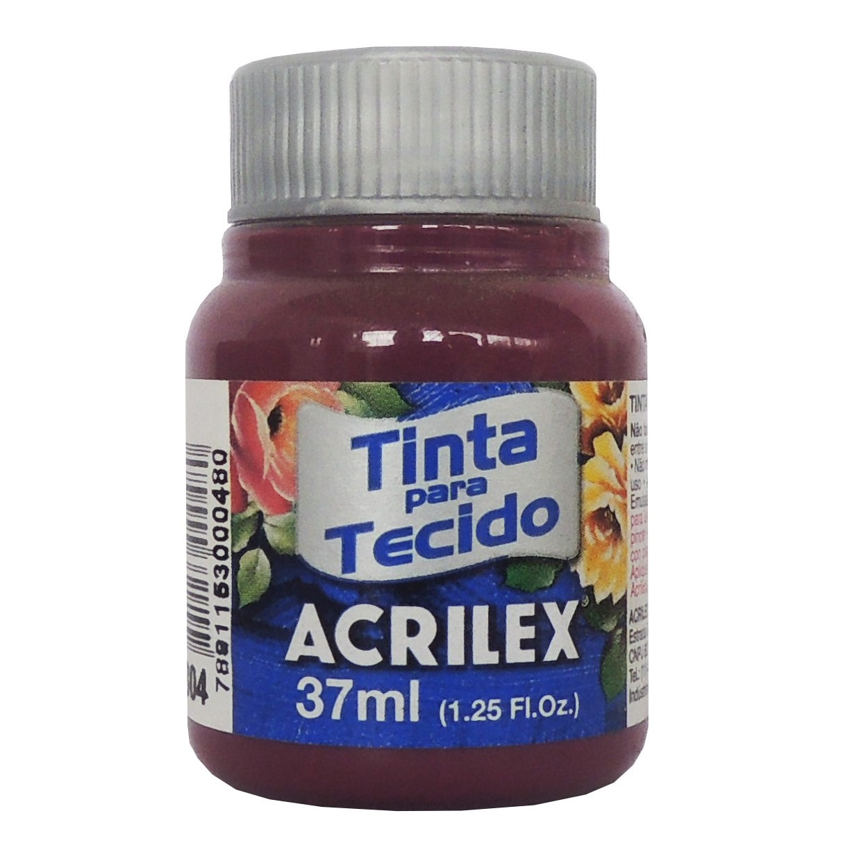 TINTA DE TECIDO ACRILEX 37 ML FUCHSIA