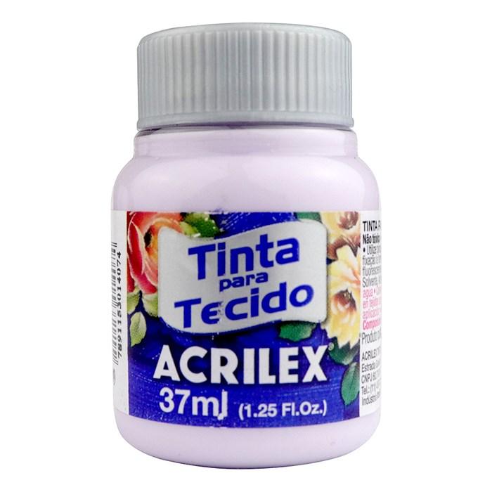 TINTA DE TECIDO ACRILEX 37 ML LILAS BEBE REF. 608
