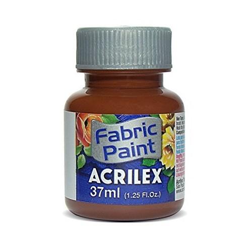 TINTA DE TECIDO ACRILEX 37 ML MARROM REF. 531