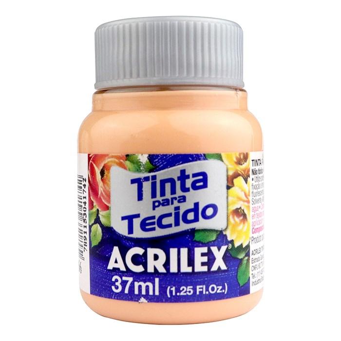 TINTA DE TECIDO ACRILEX 37 ML PÊSSEGO
