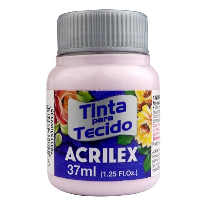 TINTA DE TECIDO ACRILEX 37 ML ROSA CANDY
