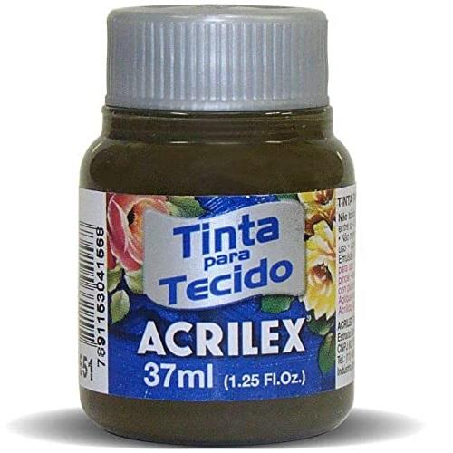 TINTA DE TECIDO ACRILEX 37 ML SÉPIA
